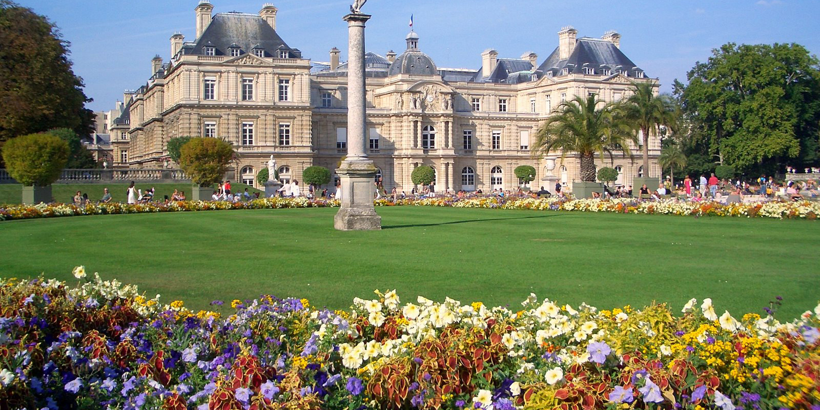 Paris Jardins de Luxemburgo