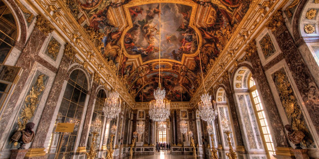 Paris Palácio de Versalhes