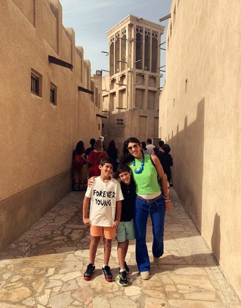 Dubai com crianças