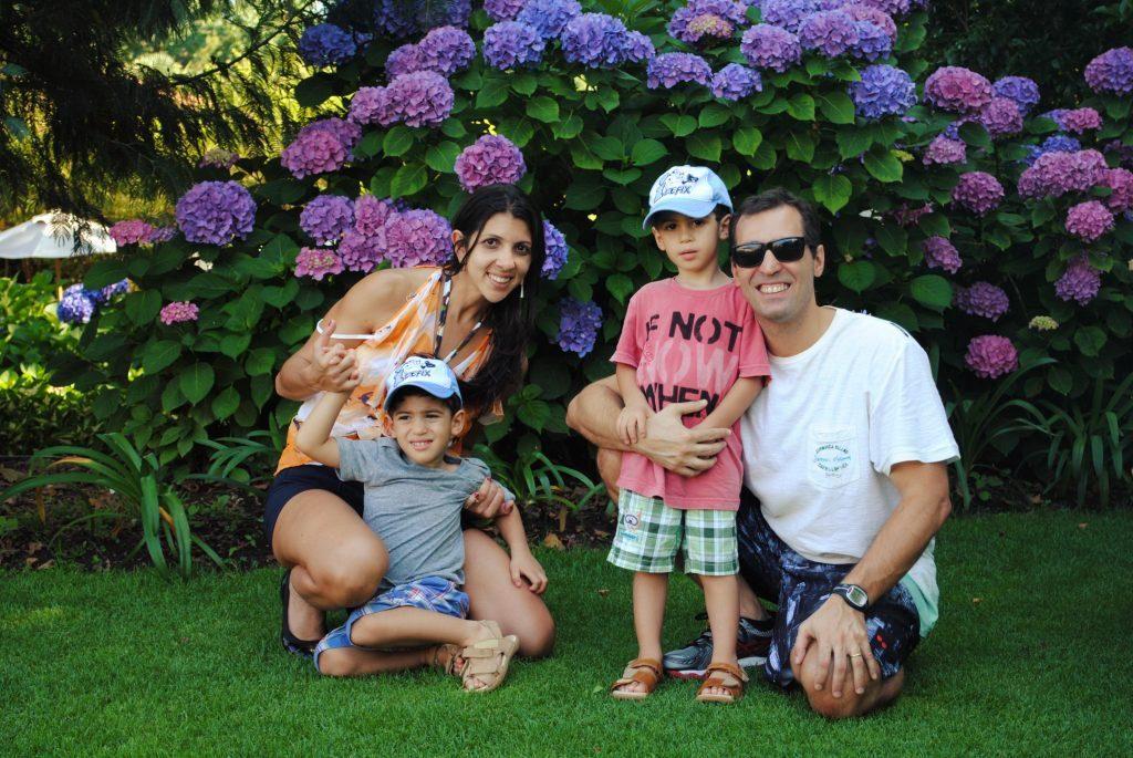 Ascona com crianças